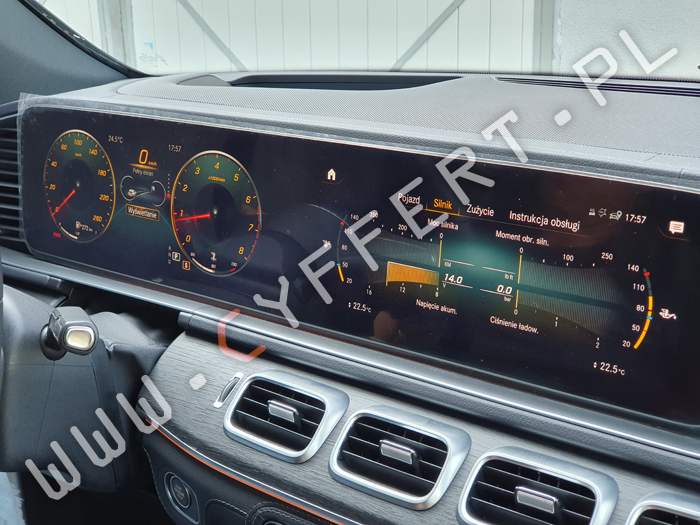 Comand NTG6 HU6 Mercedes-Benz – pełna konwersja z USA na Europę
