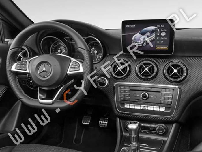 Comand NTG5 Entry Mercedes – konwersja z USA na Europę, polskie menu, polski lektor, aktywacja nawigacji, aktualizacja mapy