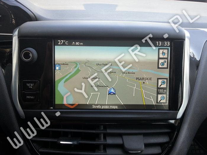SMEG SMEG+ SMEG IV2 naprawa radia nawigacji Peugeot: 208, 2008, 3008, 508, 5008, PARTNER Citroen: C3, DS3, C4, C4 PICASSO, C5, C4, CACTUS, BERLINGO wyświetla się tylko logo, nie uruchamia się, zawiesza się, resetuje się, gubi ustawienia, bluetooth niewłaściwie działa