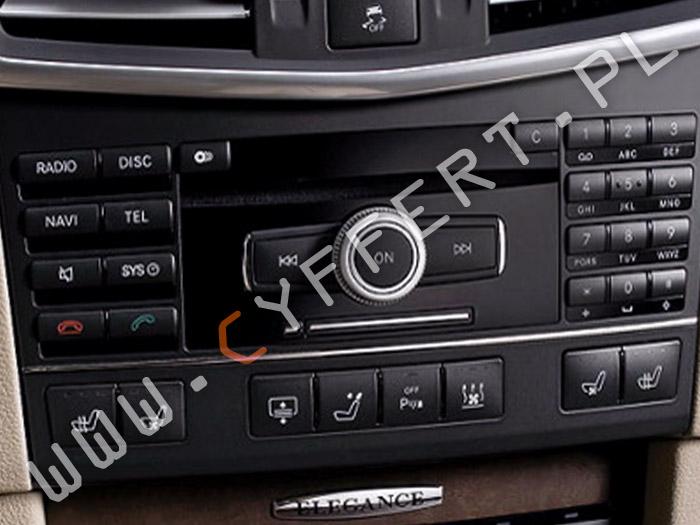 COMAND NTG4,5 Mercedes – konwersja z USA na Europę, ustalenie kodu pin, polskie menu, polski lektor, aktualizacja oprogramowania, aktualizacja mapy