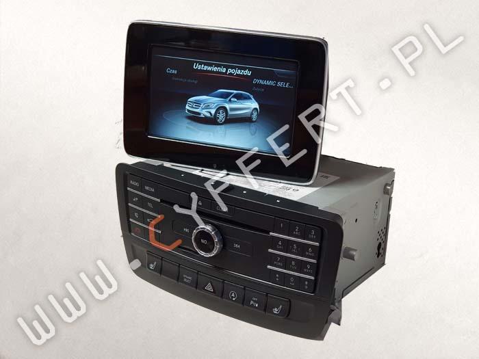 COMAND NTG5S1 HU5s1 Mercedes – naprawa – nie uruchamia się, czarny ekran, resetuje się, zawiesza się, wyświetla się tylko logo, restartuje się A2469009816, A2469006416, A2469006515, A2469017303, A2469009916, A2469016203