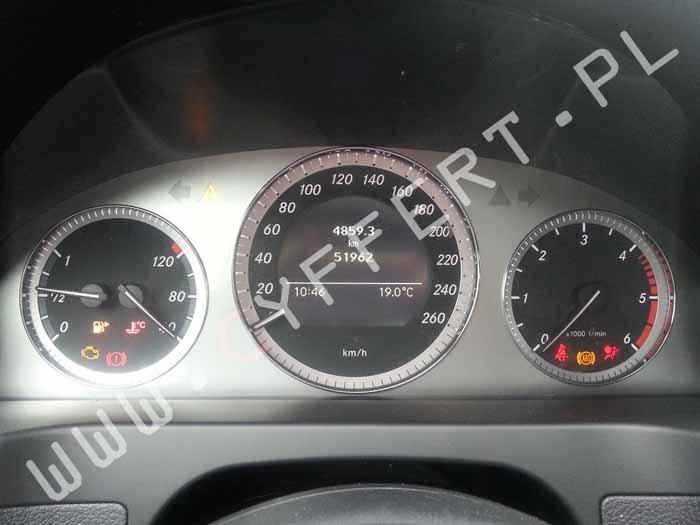 dopisanie zaprogramowanie adaptacja używanego licznika Mercedes C (W204) E (W212) E coupe (C207)
