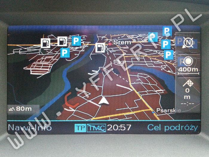 MMI 2G Audi – polskie menu, polski lektor