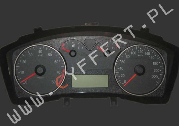 naprawa licznika Fiat Stilo – czasami lub wcale nie działa cały licznik (wskaźniki, kontrolki, podświetlenie)