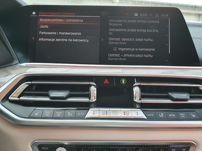 BMW MGU konwersja z USA na EU