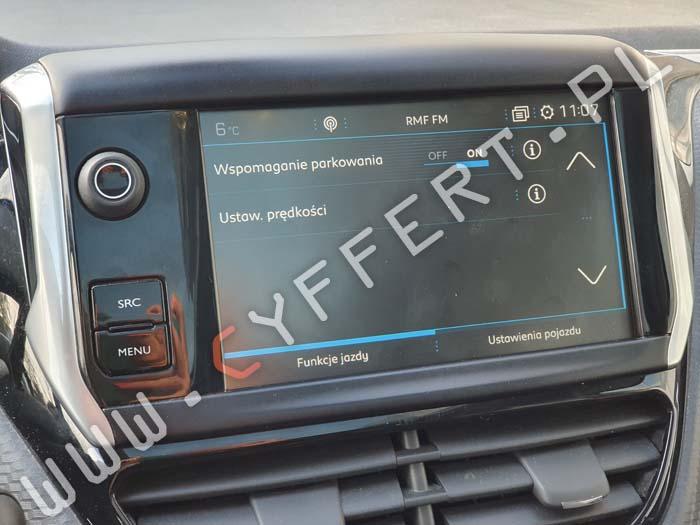 NAC Wave 2 3 4 Peugeot Citroen naprawa mapa aktualizacja oprogramowania