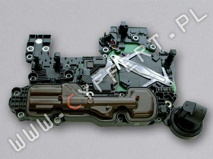 725.0 9G-Tronic sterownik skrzyni Mercedes A0002704300 A7252709011 – naprawa, klonowanie, programowanie. Usterki: brak komunikacji, błędy czujników i elektrozaworów