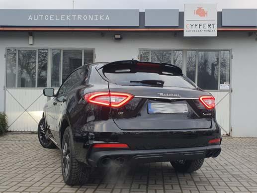 Maserati Levante - profesjonalna przeróbka tylnych lamp z USA na Europę - cyffert.pl