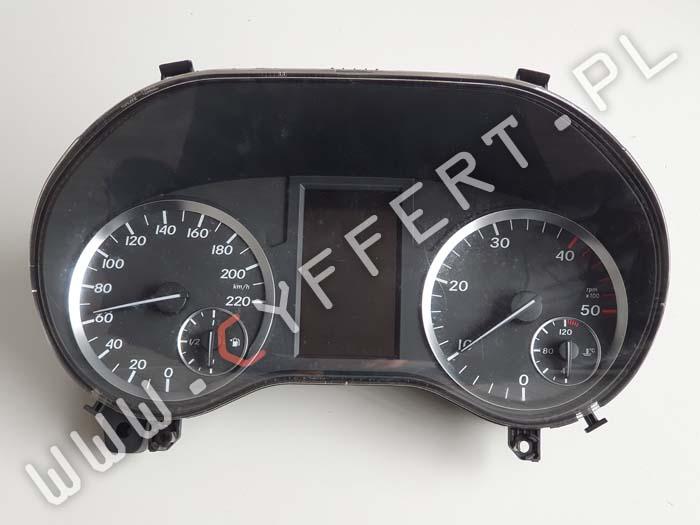 naprawa wyświetlacza i podświetlenia licznika Mercedes Vito W447