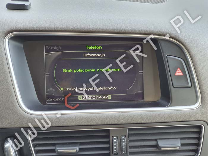 MMI 3G Audi – polskie menu, polski lektor, aktualizacja mapy