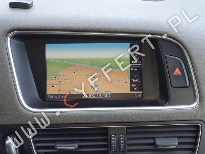 MMI 3G Audi - polskie menu, polski lektor, aktualizacja mapy