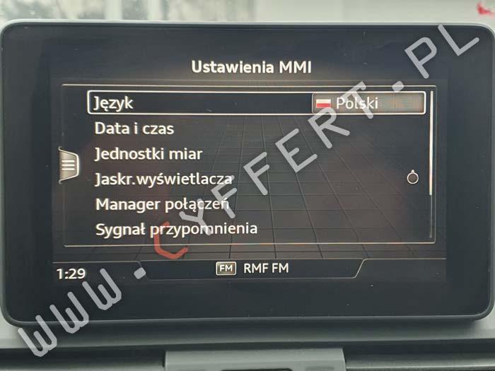 Audi MMI Delphi MIB HS2